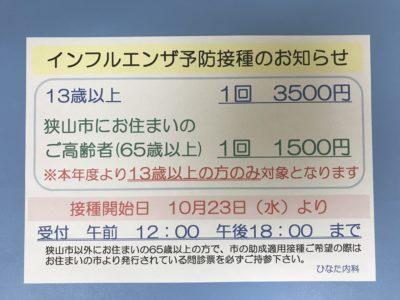 インフルエンザ2019